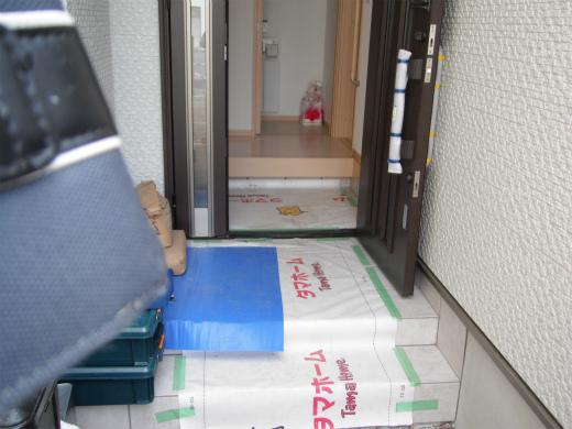 UVフロアコーティング タマホーム 大阪、京都、奈良、滋賀、和歌山、兵庫、関西