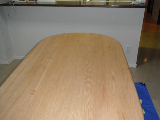 uvフロアコーティング ダイニングテーブル